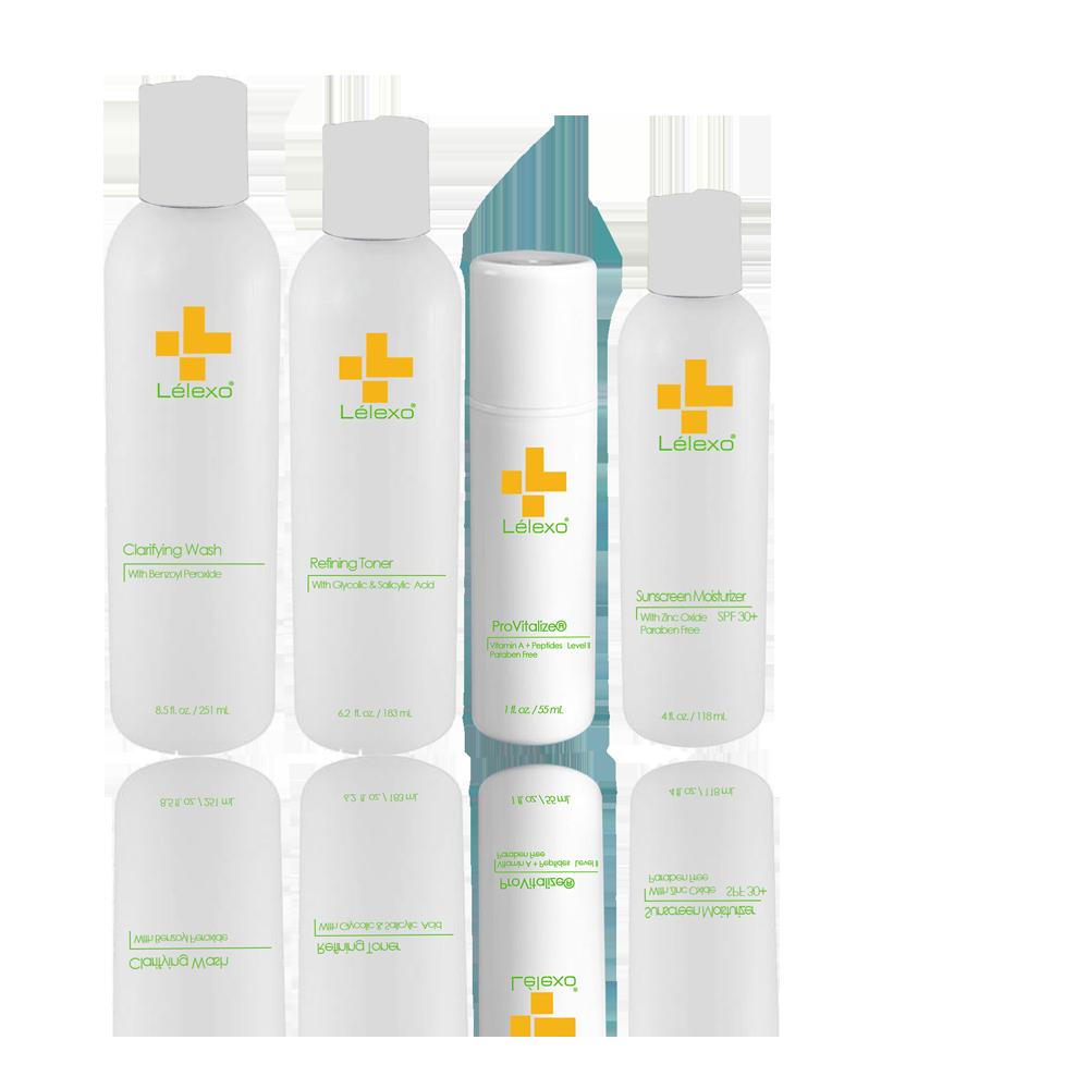 Clear Skin System II | Lelexo Skincare